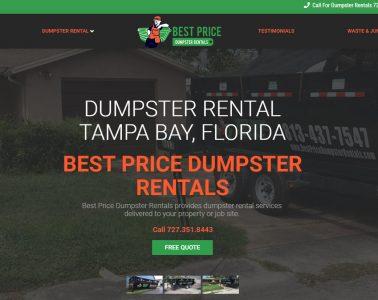 Best Price Dumpster Rentals