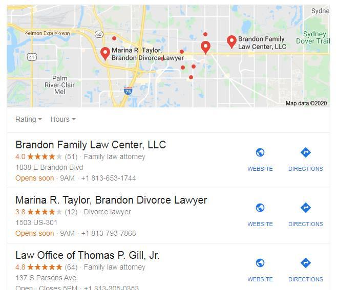 Brandon Divorce Lawyer GMB