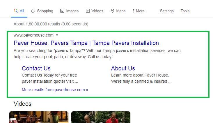 Paver House Local rank