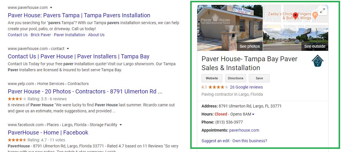 Paver House GBM