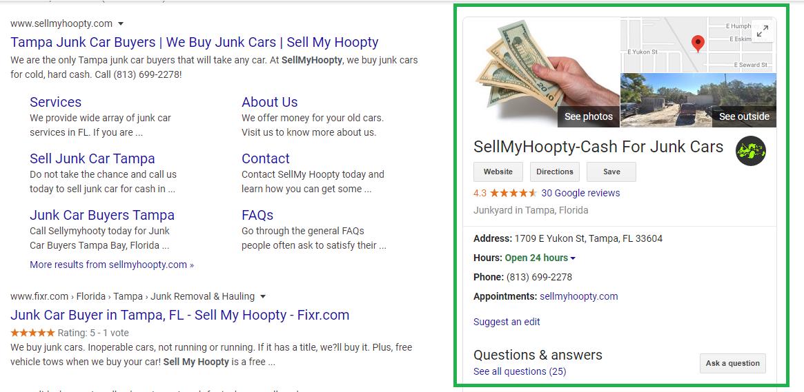 Sell My Hoopty GMB